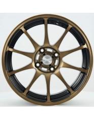 Roda Rodera RDR 263 Racing Bronze aro 15x7