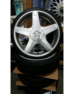 Roda Prisma 17 c/pneu